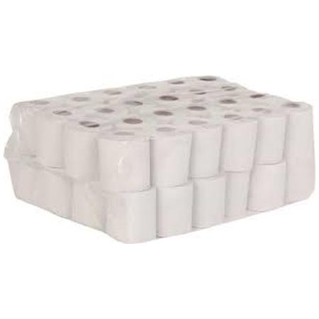 Industrial Unwrapped Toilet Rolls Virgin Pinnacle