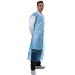 Plastic-T-shirt-smock-apron