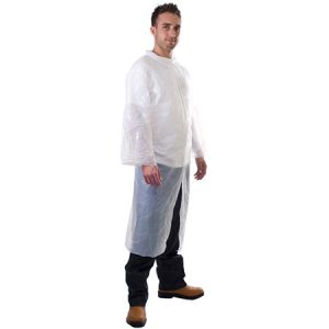 Plastic-visitor-coatrain-coat