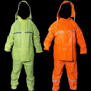 Rubberised-rain-suit
