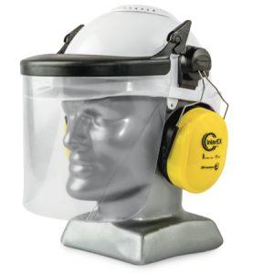 Cap-mounted-ear-muffs