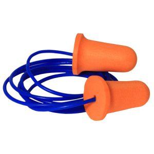 Foam-corded-earplugs