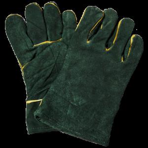Welding-Leather-green-lined-Wrist