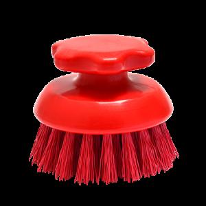 Round-Scrub-Brush-Red